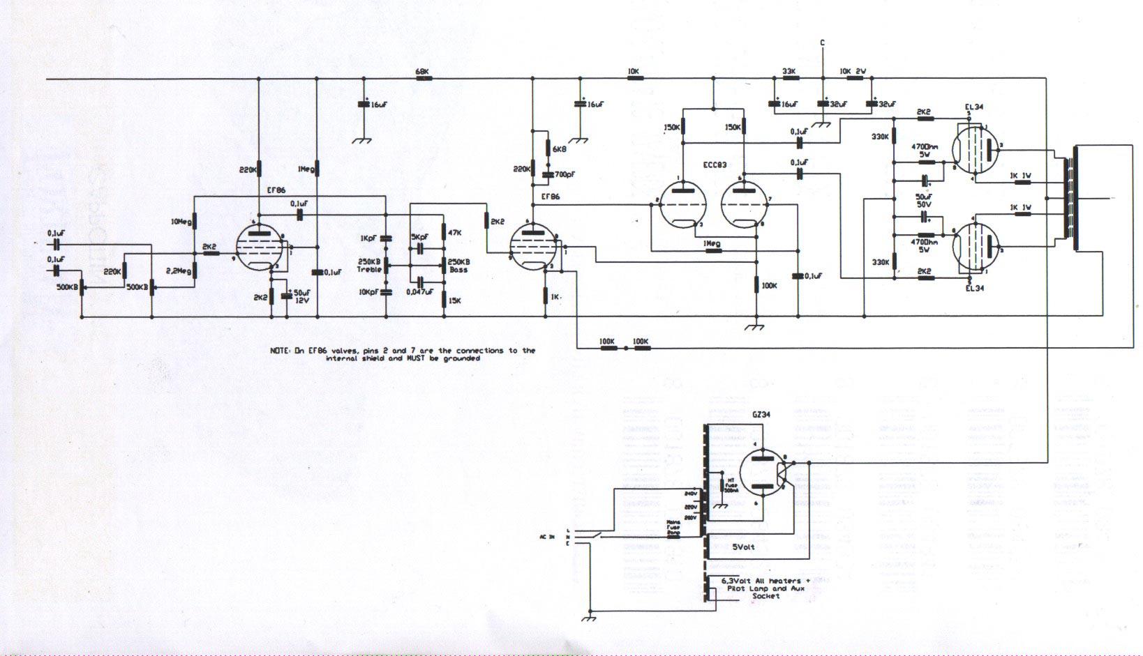 Linear Conchord 30  U0026 L50 Schematic Diagram