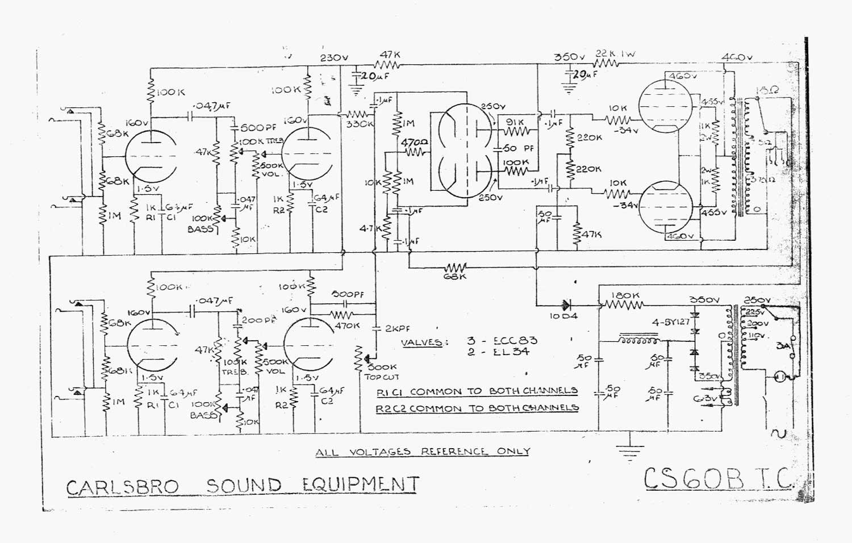 jazz b wiring schematic carlsbro cs60 btc bass amp    schematic     carlsbro cs60 btc bass amp    schematic