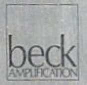 Beck Amplification Logo